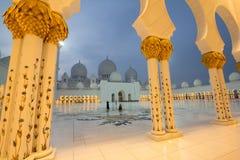 Sheikh Zayed meczet obrazy stock