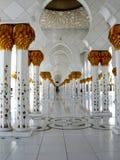 Sheikh Zayed Meczetowy Abu Dhabi obrazy royalty free