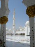 Sheikh Zayed Meczetowy Abu Dhabi zdjęcie stock