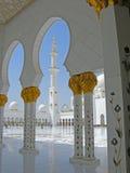 Sheikh Zayed Meczetowy Abu Dhabi obrazy stock
