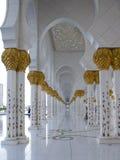 Sheikh Zayed meczetu wnętrza Fotografia Stock