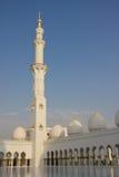 Sheikh Zayed meczetu wnętrza Zdjęcie Royalty Free