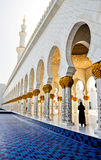 Sheikh Zayed Mesquita foto de stock