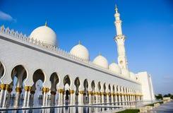 Sheikh Zayed Mesquita Imagem de Stock Royalty Free