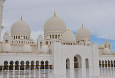 Sheikh Zayed Mesquita Foto de Stock Royalty Free