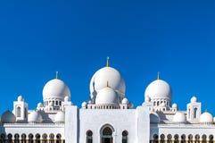Sheikh Zayed Mesquita fotografia de stock