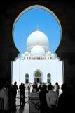 Sheikh Zayed Mesquita em Abu Dhabi fotos de stock