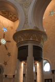 Mesquita zayed Sheikh Fotografia de Stock Royalty Free