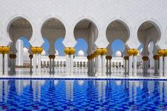 Sheikh Zayed-Moschee in Abu Dhabi, UAE Lizenzfreies Stockbild