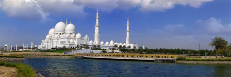 Sheikh Zayed-Moschee in Abu Dhabi, UAE Stockbild