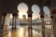 Sheikh Zayed-Moschee in Abu Dhabi, Vereinigte Arabische Emirate, Mittlere Osten Lizenzfreie Stockbilder
