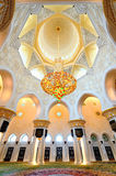 Sheikh Zayed mosque Royalty Free Stock Photos