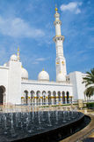 Sheikh Zayed Mosque Stock Foto
