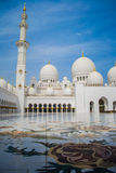 Sheikh Zayed Mosque Stock Foto's