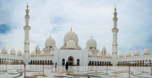Sheikh Zayed Mosque Photo stock
