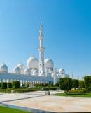 Sheikh Zayed Mosque Imágenes de archivo libres de regalías