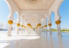 Sheikh Zayed Mosque Lizenzfreie Stockfotografie