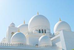Sheikh Zayed Mosque Stockfoto