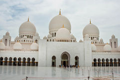 Sheikh Zayed Mosque Images libres de droits