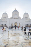 Sheikh Zayed Mosque Stockfoto