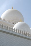 Sheikh Zayed Mosque. Inside the Sheikh Zayed Mosque Stock Image