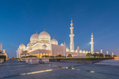 Sheikh Zayed Mosque in Abu Dabi Royalty Free Stock Photos