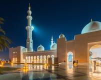Sheikh Zayed Mosque in Abu Dabi Royalty Free Stock Photo