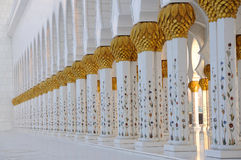 Sheikh Zayed Mosque, Abu Dhabi Stock Photography