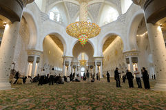 Sheikh Zayed Mosque, Abu Dhabi Royalty Free Stock Photography