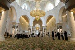 Sheikh Zayed Mosque, Abu Dhabi Royalty Free Stock Photography