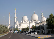 Sheikh Zayed Mosque, Abu Dhabi Royalty Free Stock Images