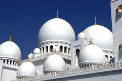 Sheikh Zayed Mosque Abu Dhabi Royalty Free Stock Image