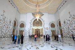Sheikh Zayed Mosque, Abu Dhabi Stock Photo