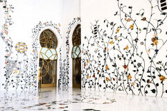 Sheikh Zayed Mosque, Abu Dhabi, Stock Photo