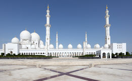 Sheikh Zayed Mosque, Abu Dhabi Royalty Free Stock Photos