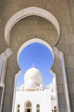 Sheikh Zayed Mosque in Abu Dhabi, Stock Photography