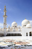 Sheikh Zayed Mosque in Abu Dhabi, Stock Image