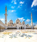 Sheikh Zayed Mosque, Abu Dhabi Stockfoto