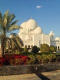 Sheikh Zayed Mosque in Abu Dhabi Stockfotos
