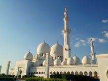 Sheikh Zayed Mosque in Abu Dhabi Stockbild