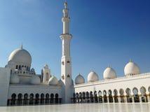 Sheikh Zayed Mosque in Abu Dhabi Stockfoto