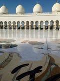 Sheikh Zayed Mosque in Abu Dhabi Lizenzfreie Stockfotografie
