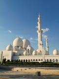Sheikh Zayed Mosque in Abu Dhabi Stockbilder