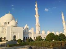 Sheikh Zayed Mosque in Abu Dhabi Lizenzfreie Stockbilder