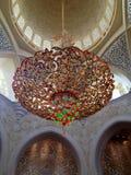 Sheikh Zayed Mosque in Abu Dhabi Lizenzfreies Stockfoto