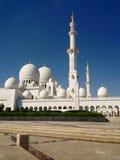 Sheikh Zayed Mosque in Abu Dhabi Stockfotografie