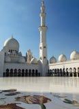 Sheikh Zayed Mosque in Abu Dhabi Lizenzfreies Stockbild