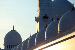 Sheikh Zayed Mosque, Abu Dhabi.  Royalty Free Stock Photo