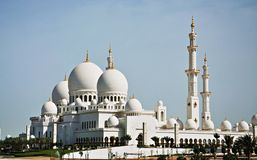 Sheikh zayed Royalty Free Stock Photography