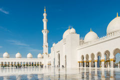 Sheikh Zayed Mosque in Abu Dhabi Stock Photography